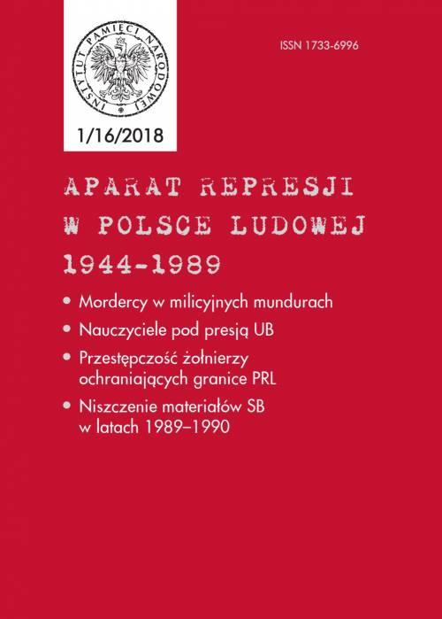 Aparat Represji w Polsce Ludowej - okładka książki