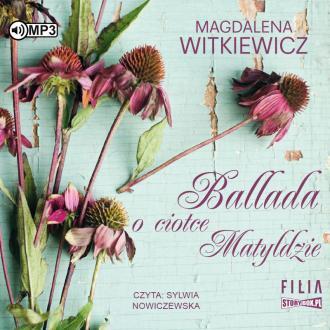 Ballada o ciotce Matyldzie (CD - pudełko audiobooku