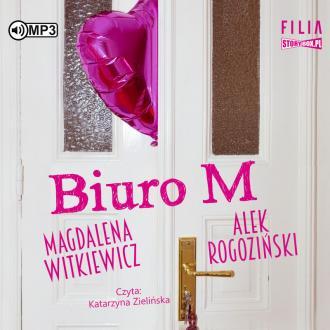Biuro M (CD mp3) - pudełko audiobooku