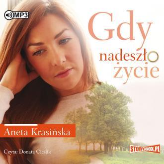 Gdy nadeszło życie (CD mp3) - pudełko audiobooku