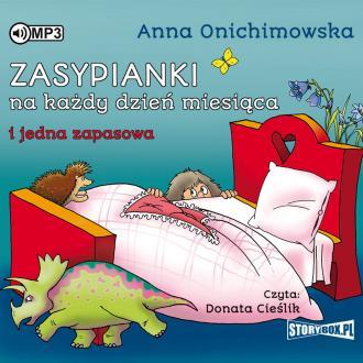Zasypianki na każdy dzień miesiąca - pudełko audiobooku