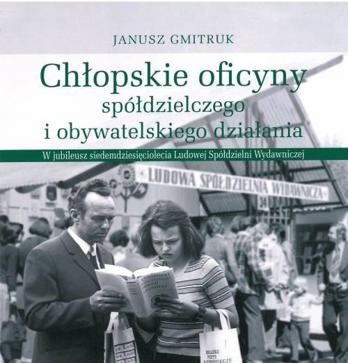 Chłopskie oficyny spółdzielczego - okładka książki