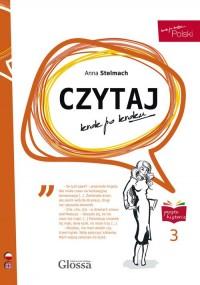 CZYTAJ krok po kroku 3 (en) - okładka podręcznika