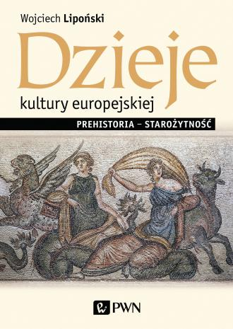 Dzieje kultury europejskiej. Prehistoria - okładka książki