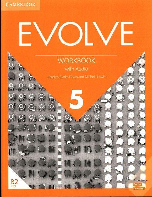 Evolve 5 Workbook with Audio - okładka podręcznika