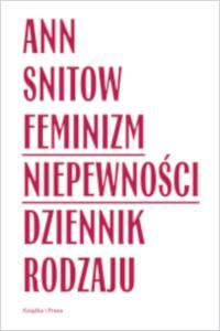 Feminizm niepewności. Dziennik - okładka książki