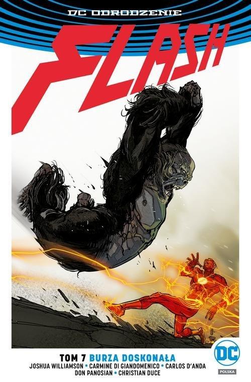 Flash. Tom 7. Burza doskonała - okładka książki