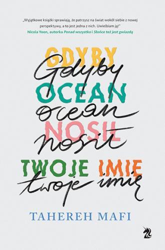 Gdyby ocean nosił twoje imię - okładka książki