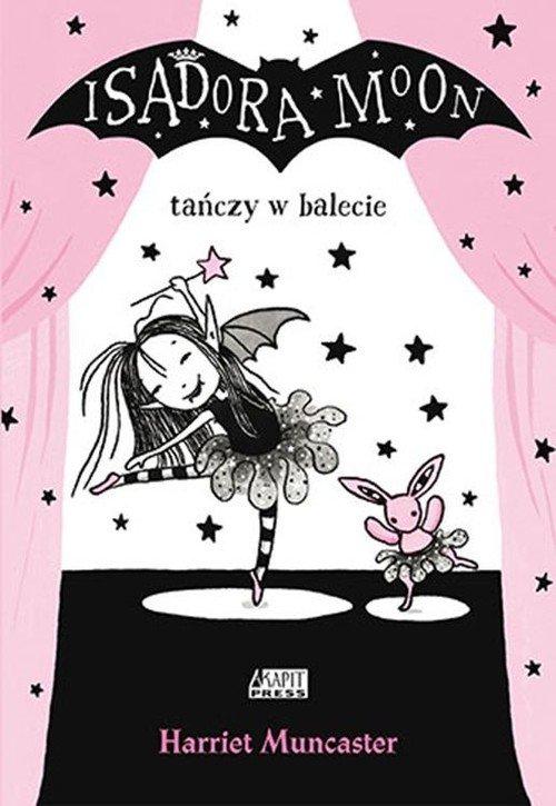 Isadora Moon tańczy w balecie - okładka książki