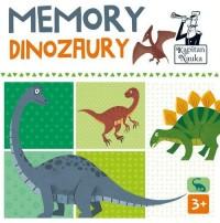 Kapitan Nauka Memory Dinozaury - zdjęcie zabawki, gry