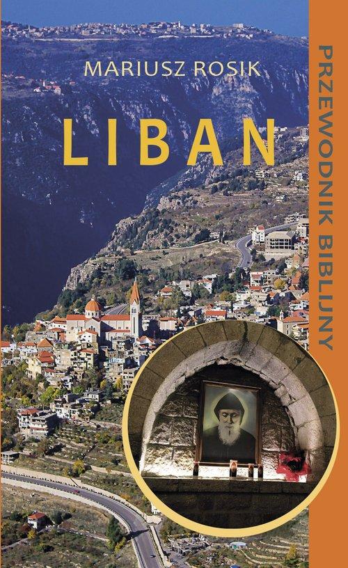 Liban. Przewodnik biblijny - okładka książki