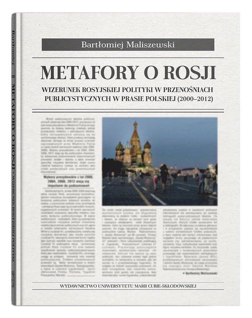 Metafory o Rosji. Wizerunek rosyjskiej - okładka książki