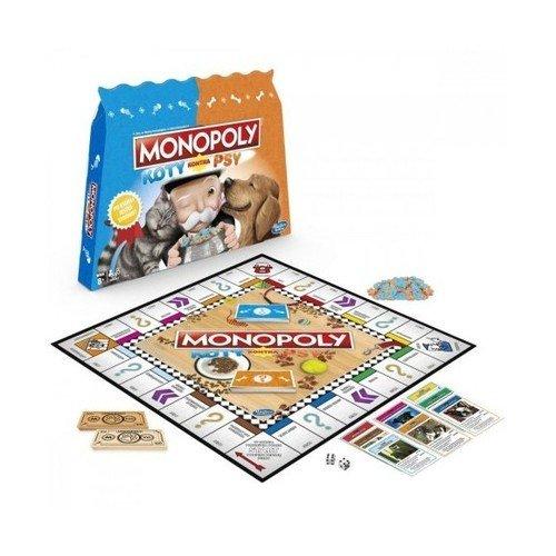 Monopoly Koty kontra Psy - zdjęcie zabawki, gry