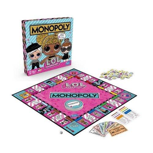 Monopoly L.O.L Surprise - zdjęcie zabawki, gry