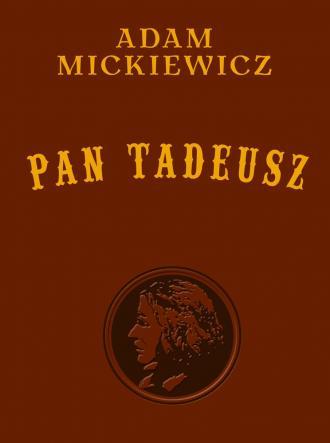 Pan Tadeusz - wydanie kolekcjonerskie - okładka książki