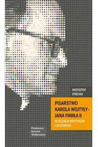 Pisarstwo Karola Wojtyły - Jana - okładka książki