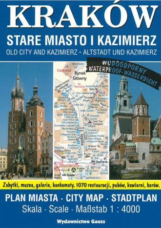 Plan miasta. Kraków, Stare Miasto - okładka książki