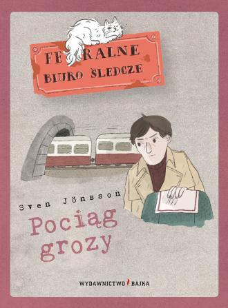 Pociąg grozy - okładka książki