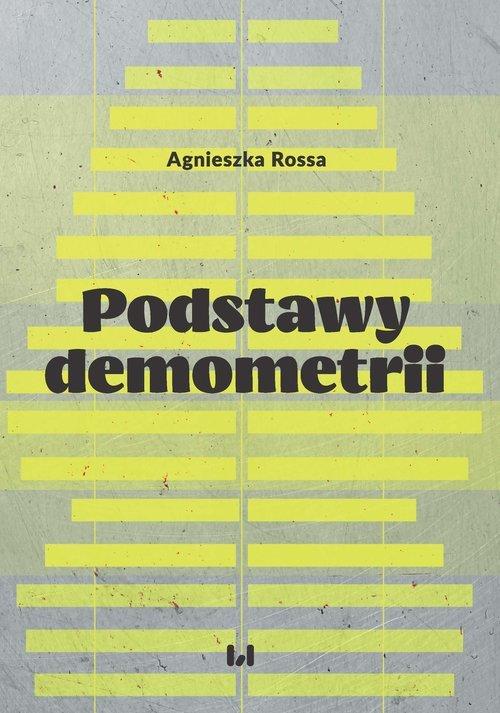 Podstawy demometrii - okładka książki
