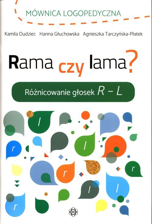Rama czy lama. Różnicowanie głosek - okładka podręcznika