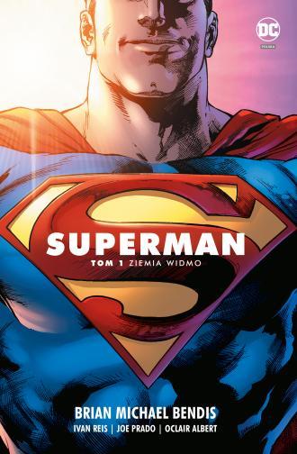 Superman. Tom 1. Ziemia widmo - okładka książki