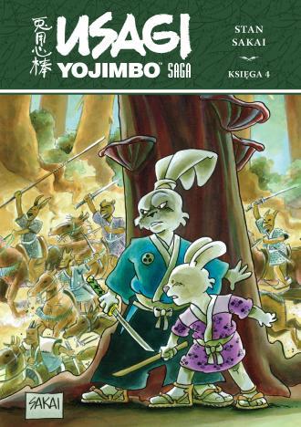 Usagi Yojimbo. Saga księga 4 - okładka książki