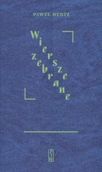 Wiersze zebrane - okładka książki