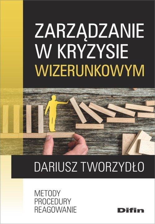 Zarządzanie w kryzysie wizerunkowym. - okładka książki