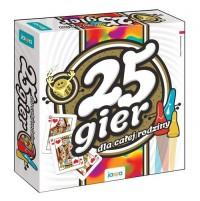 25 gier dla całej rodziny - zdjęcie zabawki, gry