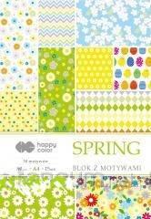 Blok z motywami Spring A4/15ark - zdjęcie produktu
