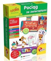 Carotina Pociąg ze zwierzętami - zdjęcie zabawki, gry