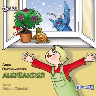 Aleksander (CD mp3) - pudełko audiobooku