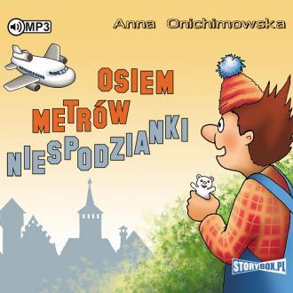 Osiem metrów niespodzianki (CD - pudełko audiobooku