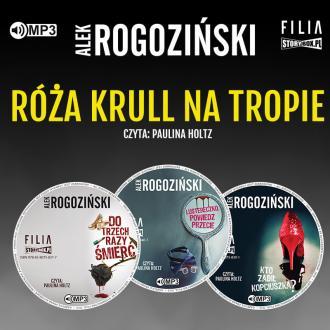 Pakiet Róża Krull na tropie (CD - pudełko audiobooku