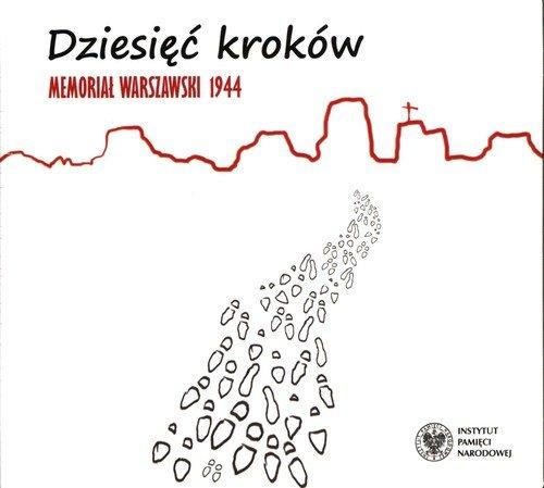 Dziesięć kroków. Memoriał Warszawski - okładka płyty