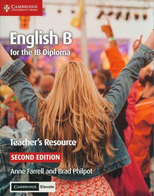 English B for the IB Diploma Teacher - okładka podręcznika