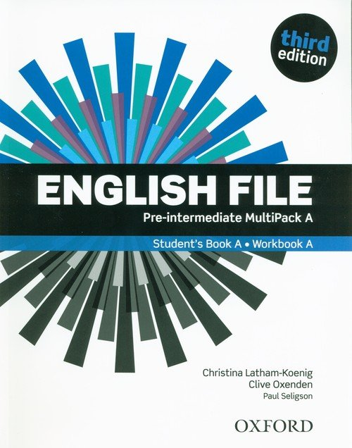 English File Pre-Intermediate Multipack - okładka podręcznika
