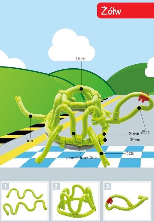 Gra Edukacyjna Tęczowe Zakręcone - zdjęcie zabawki, gry