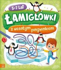 Łamigłówki z wesołym pingwinkiem - okładka książki