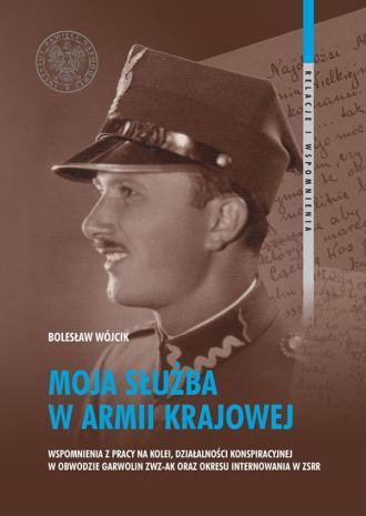 Moja służba w Armii Krajowej. Wspomnienia - okładka książki