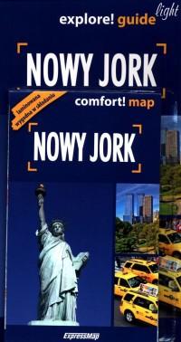 Nowy Jork explore! guide light - okładka książki
