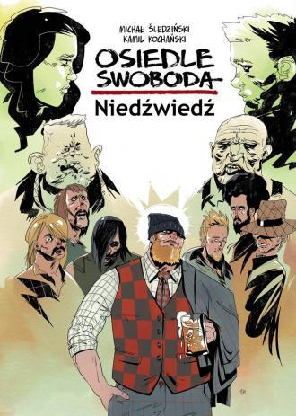 Osiedle Swoboda. Niedźwiedź - okładka książki