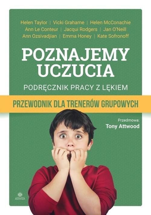 Poznajemy uczucia Podręcznik pracy - okładka książki