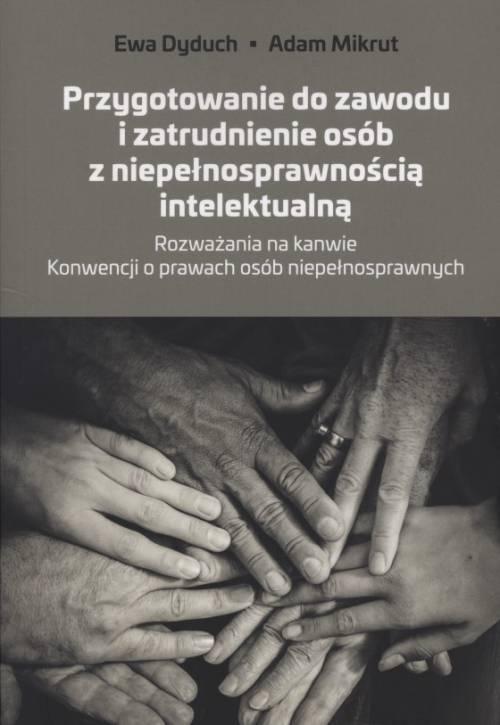 Przygotowanie do zawodu i zatrudnienie - okładka książki