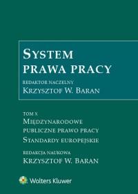 System prawa pracy. Tom 10. Międzynarodowe - okładka książki