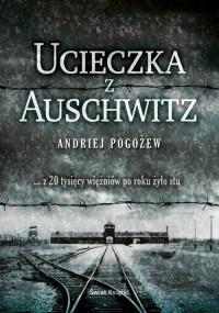 Ucieczka z Auschwitz - okładka książki