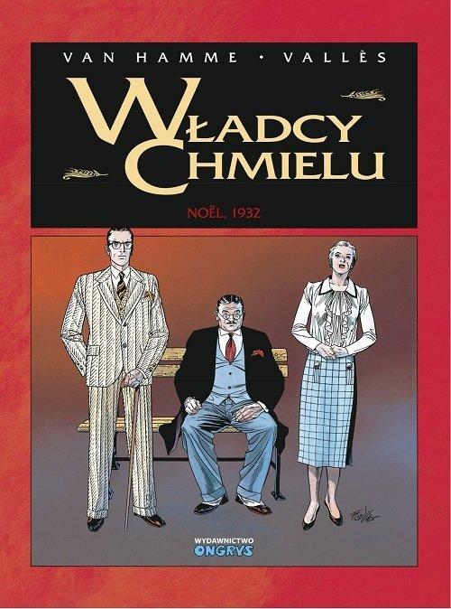 Władcy Chmielu 4. Noel 1932 - okładka książki