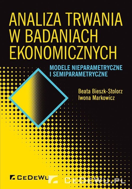 Analiza trwania w badaniach ekonomicznych.. - okładka książki