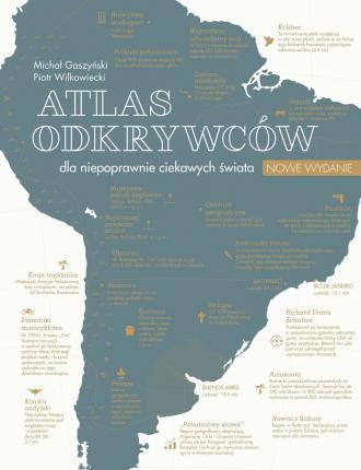 Atlas odkrywców dla niepoprawnie - okładka książki