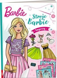 Barbie Stroje Imprezy - okładka książki